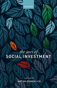 Cover for The Uses of Social Investment