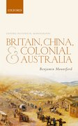 Cover for Britain, China, and Colonial Australia