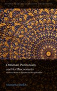 Cover for Ottoman Puritanism and Its Discontents