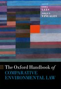 Cover for Oxford Handbook of Comparative Environmental Law
