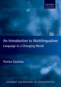Cover for An Introduction to Multilingualism - 9780198791119