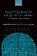 Cover for Majority Quantification and Quantity Superlatives