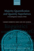 Cover for Majority Quantification and Quantity Superlatives