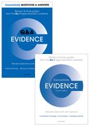 Cover for Evidence Revision Pack 2016