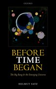 Cover for Before Time Began - 9780198792420
