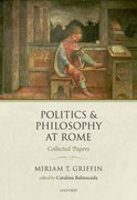 Cover for Politics and Philosophy at Rome