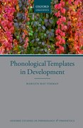 Cover for Phonological Templates in Development