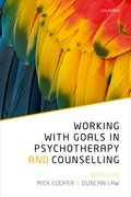 Cover for Working with Goals in Psychotherapy and Counselling