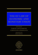 Cover for EU Law of Economic & Monetary Union - 9780198793748