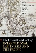 Cover for The Oxford Handbook of International Law in Asia and the Pacific
