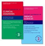 Cover for Oxford Handbook of Clinical Diagnosis and Oxford Handbook of Medical Sciences