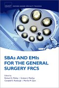 Cover for SBAs and EMIs for the General Surgery FRCS