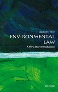 Cover for Environmental Law: A Very Short Introduction