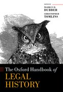 Cover for The Oxford Handbook of Legal History - 9780198794356