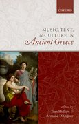 Cover for Music, Text, and Culture in Ancient Greece