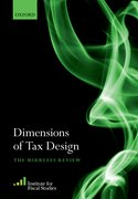 Cover for Dimensions of Tax Design