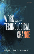 Cover for Work and Technological Change - 9780198795209