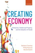 Cover for Creating Economy