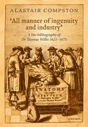 Cover for 'All manner of ingenuity and industry' - 9780198795391