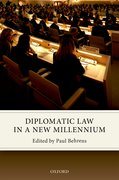 Cover for Diplomatic Law in a New Millennium