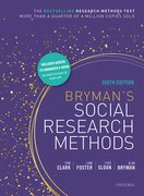 Cover for Social Research Methods 6E