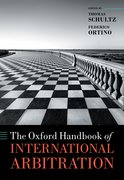 Cover for The Oxford Handbook of International Arbitration