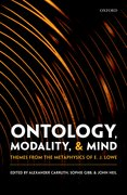 Cover for Ontology, Modality, and Mind - 9780198796299
