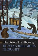 Cover for The Oxford Handbook of Russian Religious Thought