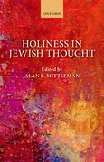 Cover for Holiness in Jewish Thought