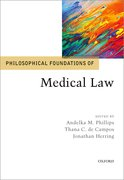 Cover for Philosophical Foundations of Medical Law