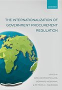 Cover for The Internationalization of Government Procurement Regulation