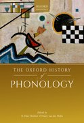 Cover for The Oxford History of Phonology