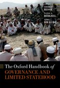 Cover for The Oxford Handbook of Governance and Limited Statehood