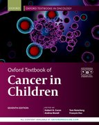 Cover for Oxford Textbook of Cancer in Children