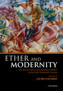 Cover for Ether and Modernity