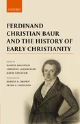 Cover for Ferdinand Christian Baur and the History of Early Christianity