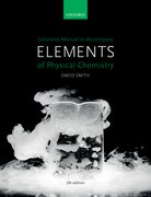 Cover for Solutions Manual to accompany Elements of Physical Chemistry 7e