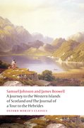 Cover for A Journey to the Western Islands of Scotland <i>and</i> the Journal of a Tour to the Hebrides