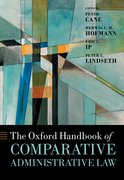 Cover for The Oxford Handbook of Comparative Administrative Law - 9780198799986