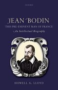 "Cover for Jean Bodin, ""this Pre-eminent Man of France"""