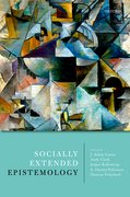 Cover for Socially Extended Epistemology - 9780198801764