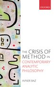 Cover for The Crisis of Method in Contemporary Analytic Philosophy