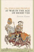 Cover for The English People at War in the Age of Henry VIII - 9780198802860