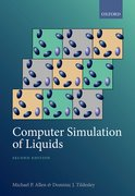 Cover for Computer Simulation of Liquids - 9780198803195