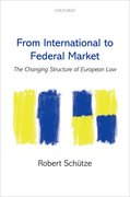 Cover for From International to Federal Market - 9780198803379