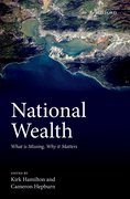 Cover for National Wealth - 9780198803720