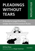 Cover for Pleadings Without Tears