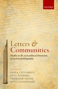 Cover for Letters and Communities
