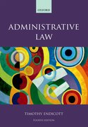 Cover for Administrative Law - 9780198804734