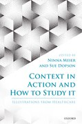 Cover for Context in Action and How to Study It